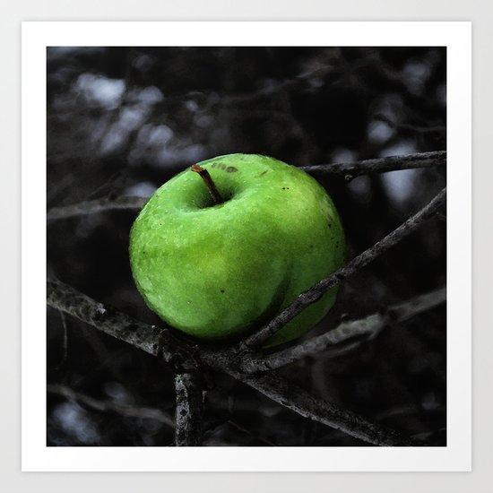 The Poison Apple Art Print