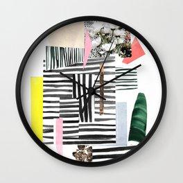 Garden Prism Wall Clock