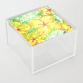 positive mind positive vibes positive life Acrylic Box