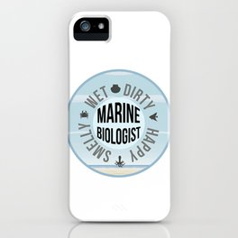 Marine Biologist iPhone Case