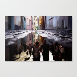 A Reflection of City Life by GEN Z Canvas Print