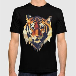 HEAD TIGER LOWPOLY STYLE T-shirt