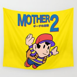 Mother 2 / Earthbound / Super Mario Bros. 3 Style Wall Tapestry