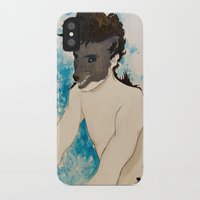 beast iPhone & iPod Cases featuring Beast by Cat Rocketship