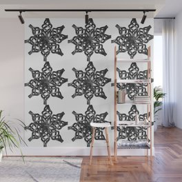 Wrought Iron Wall Mural