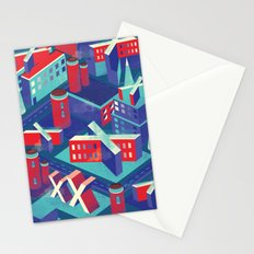 Isometric X city Stationery Cards
