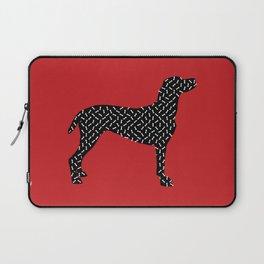 the greedy dog Laptop Sleeve