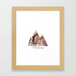 Nefelibata Framed Art Print