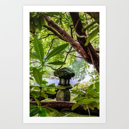lantern in the middle Art Print