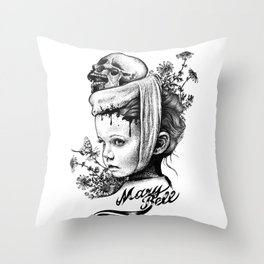 Mary Bell Throw Pillow