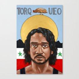 Saints of LOST | Sayid Canvas Print