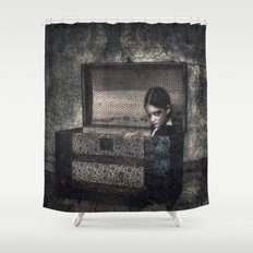 What the Attic Found Shower Curtain
