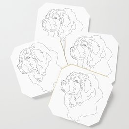 Great Pyrenees Coaster