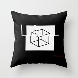 F+. Throw Pillow