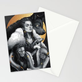 Angrboða Stationery Cards