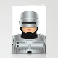 robocop Stationery Cards featuring Robocop by Capitoni