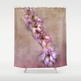 Pink Glads Shower Curtain