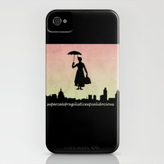 mary poppins Slim Case iPhone (4, 4s)