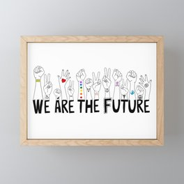 We Are The Future Tattoos Part 1 Framed Mini Art Print