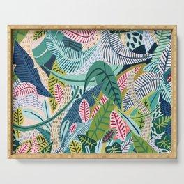 Jungle Pattern Serving Tray