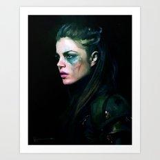 Octavia Blake - The 100 Art Print