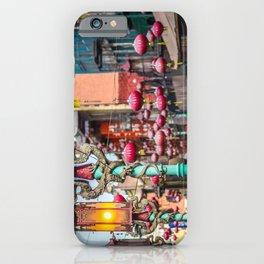 Chinatown Lanterns iPhone Case