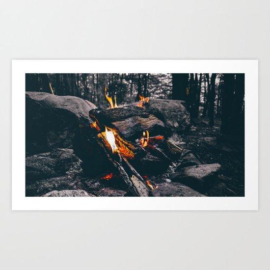 Burn Brightly Art Print