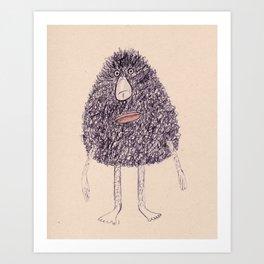 - marcel - Art Print