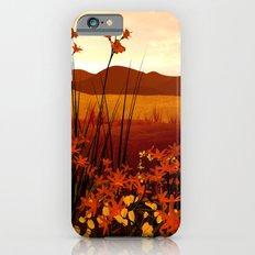 Field of Flowers Slim Case iPhone 6s