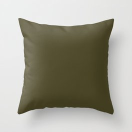 Clifftop Grazing ~ Sphagnum Moss Throw Pillow