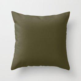 Clifftop Grazing ~ Sphagnum Moss Throw Pillow