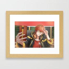 707 Selfie~ Framed Art Print