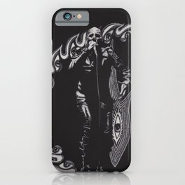 He Has A Grudge  iPhone Case