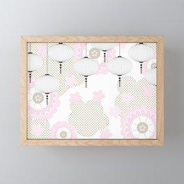 Chinese pattern Framed Mini Art Print