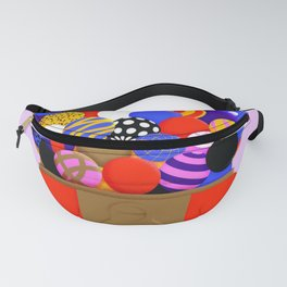 Gumball Machine Illustration Art print Fanny Pack