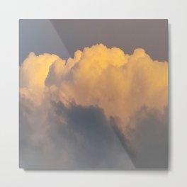 Walking on cloud 9 Metal Print
