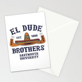 Peep Show - El Dude Brothers Stationery Cards