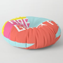 You Are Great! Floor Pillow