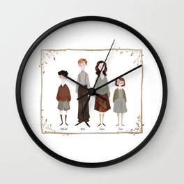 The Pevensies Wall Clock