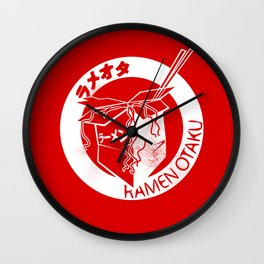 This Is My Ramen Shirt (Large Print for Hoodies) Wall Clock