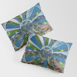 Bike Mandala Pillow Sham
