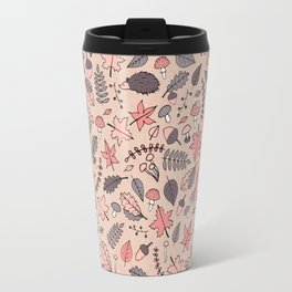 Autumn Pattern Travel Mug