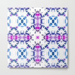 Geometric Alignment Metal Print