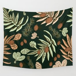 Christmas pattern. Wall Tapestry
