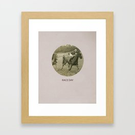 Race Day Framed Art Print