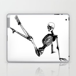 Skeleton Breakdance Laptop & iPad Skin
