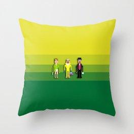 Breaking Bit Throw Pillow