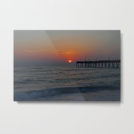 Swept Away by a Summer Wind Metal Print