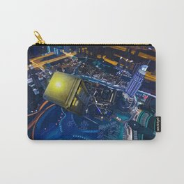 Tardis doctor who Flying at modern starry night iPhone, ipod, ipad, pillow case and tshirt Carry-All Pouch