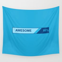 80 Percent AWESOME Wall Tapestry